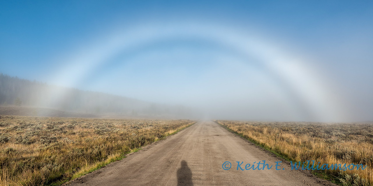 Fog Bow, Green River Road