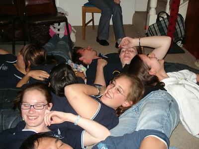 Cuddle pile