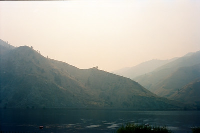 Smokey over the Columbia