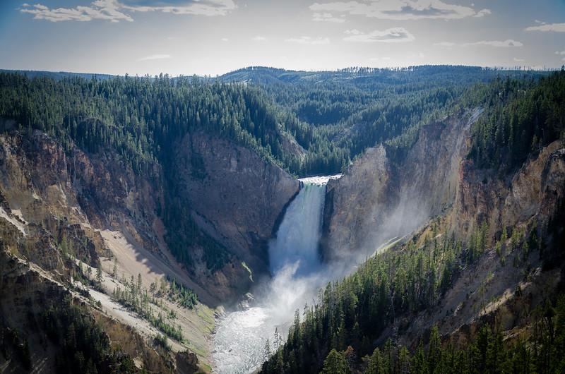 The Falls in Yellowstone