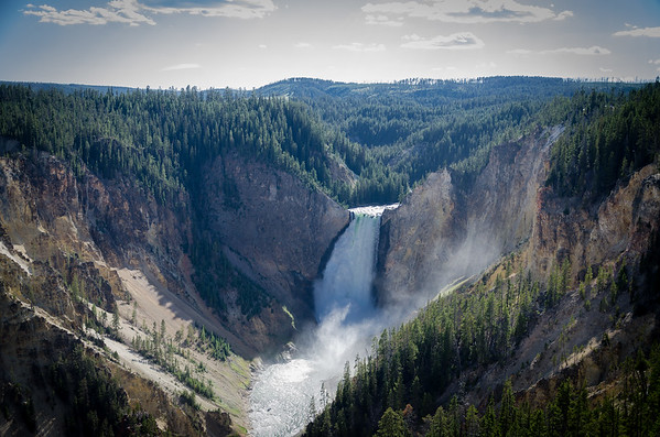 The Falls in Yellowstone