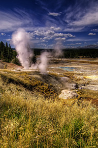 The Three Smokin' Holesin Yellowstone National ParkBy: James A. B.  - Read More on my Photo Blog: Raining Dreams- Or if you're Facebook Happy: My Facebook Page- Or if you're Google Savvy: My Google+ Page