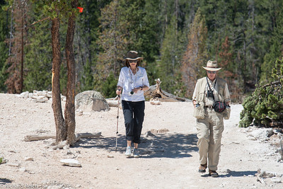 Jamoa Moberly & Mike Caruso  Hiking the Grand Canyon of Yellowstone 7/9/13