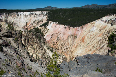 Hiking the Grand Canyon of Yellowstone 7/9/13