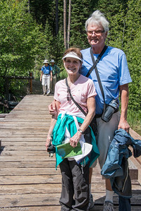 Mary Lou Dashburg, John Dashburg  Laurance Rockefeller Preserve  Grand Teton National Park  1,106-acre refuge within Grand Teton National Park on the southern end of Phelps Lake.  7/12/13