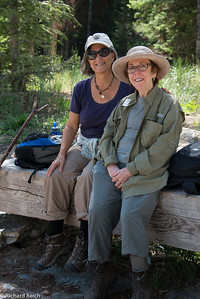 Jann Gumbiner, Carolyn Reich  Laurance Rockefeller Preserve  Grand Teton National Park  1,106-acre refuge within Grand Teton National Park on the southern end of Phelps Lake.  7/12/13