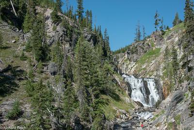 Upper & Lower Geyser Basins Yellowstone  7/10/13