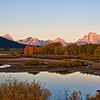 tetons from oxbow