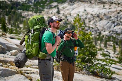 Willie & Trev Backpacking