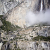 Yosemite Falls & Low Clouds