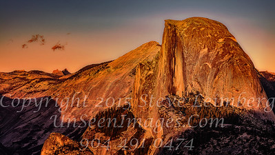 Half Dome from Glacier Point III - Copyright 2015 Steve Leimberg - UnSeenImages Com _Z2A4045