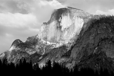 It's so hard to be in Yosemite. Really.  I'm burdened by the beauty, awed by it all. The next several images are spring time.