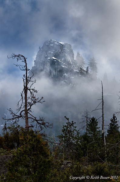Peak in the Fog