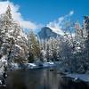 Half Dome Postcard<br /> Yosemite National Park