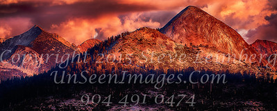 Mountain Range at Sunset - Copyright 2015 Steve Leimberg - UnSeenImages Com _Z2A4052