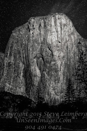 Night on Half Dome - Copyright 2015 Steve Leimberg - UnSeenImages Com _Z2A4348