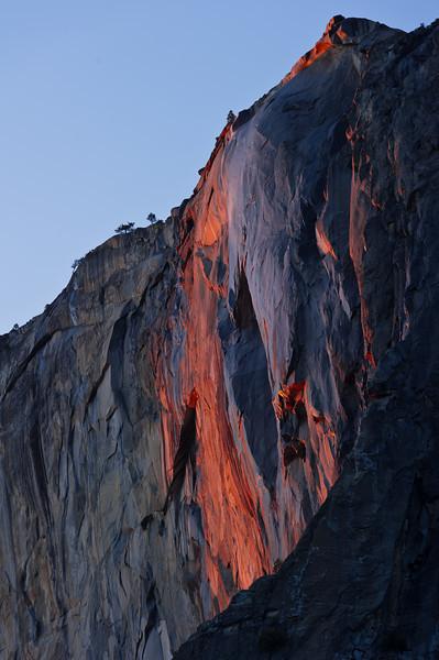 Firefall - Horsetail Falls<br /> 2012