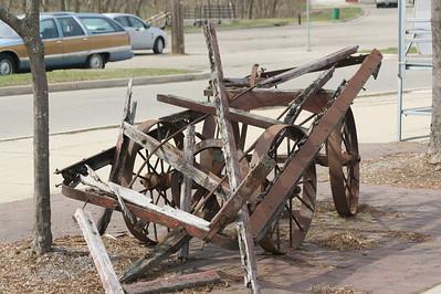Ypsilanti wrecked wagon