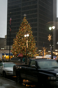 Detroit x-mas tree