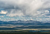 Rain over Richardson Mountains, Yukon