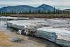 Late spring melt, Red Creek, Ogilvie Mountains, Yukon