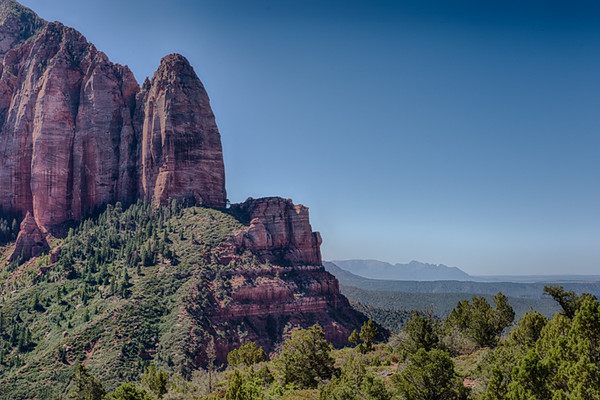 Kolob Canyon in the Northwest corner of Zion.