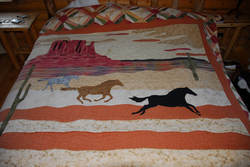 Coolest bedspread ever.