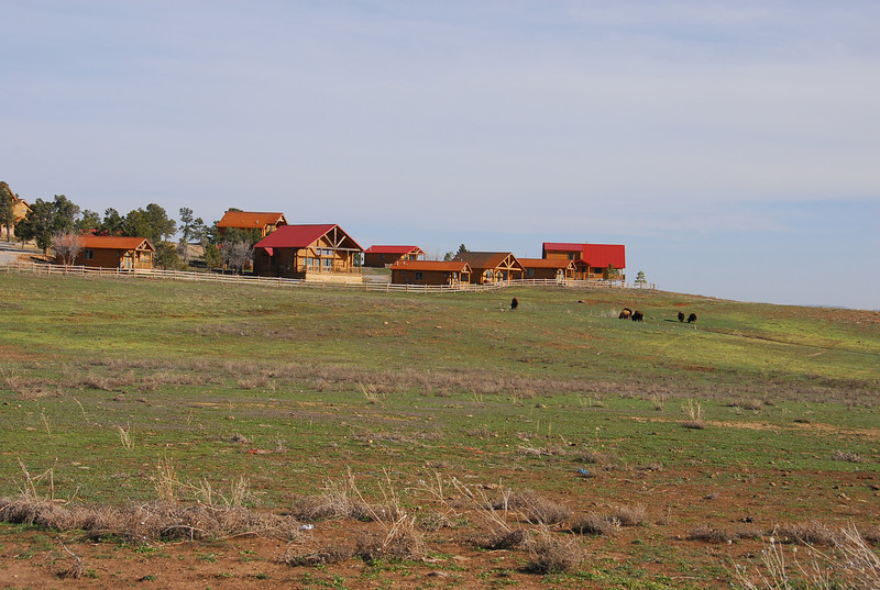 Where we stayed outside of Zion.  Zion Mountain Ranch.