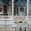 Fountain at Topkapi Palace in Istanbul.  Topkapi Palace was the primary residence of the Ottoman Sultans for approximately 400 years (1465-1856) of their 624-year reign.