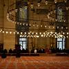 Inside Süleymaniye Camii.
