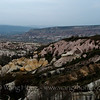 Cappadocia landscape near Uchisar Castle.