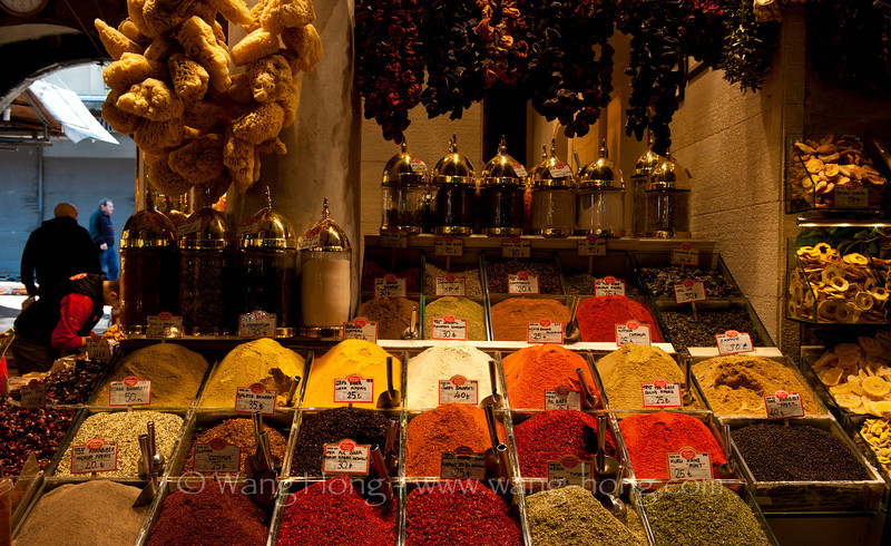 Spice (Egypt) Market in Istanbul.
