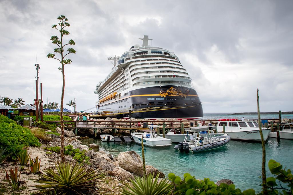 Docked at Castaway Cay