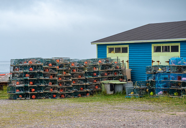 Miquelon lobster traps