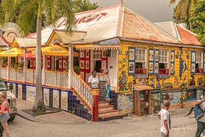Street Scene in Barbados