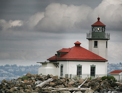 Alki Lighthouse, Seattle, WA