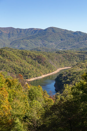 Fontana Lake from the Road to Nowhere