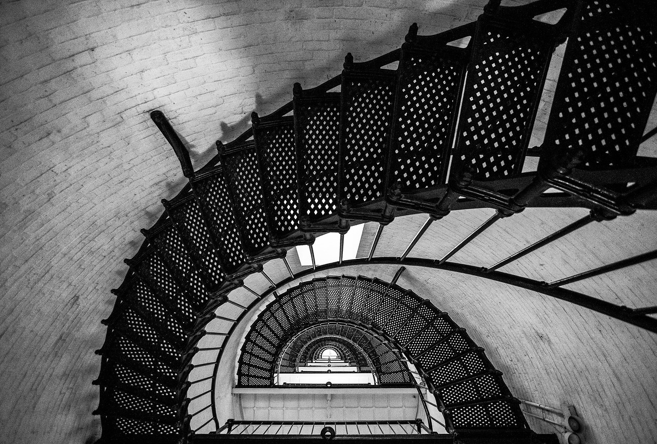 St. Augustine Lighthouse Steps, Florida