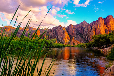 Salt River Sunset I