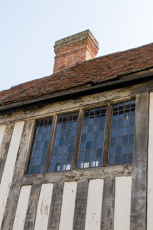 Tudor House windows