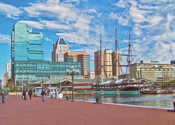 Baltimore Inner Harbor. 2007