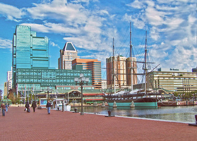 Baltimore Inner Harbor. 2007
