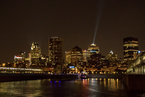 Montreal from the river