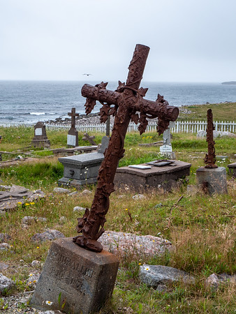 Cemetery on Ile aux marins