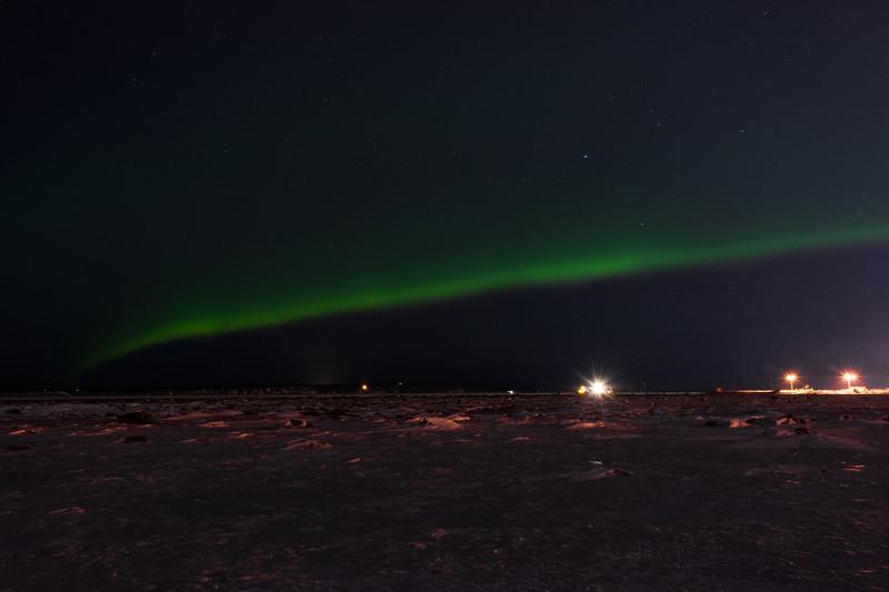 Aurora Over Cook Inlet