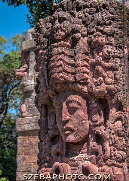 Mayan Ruin, Honduras 2014.