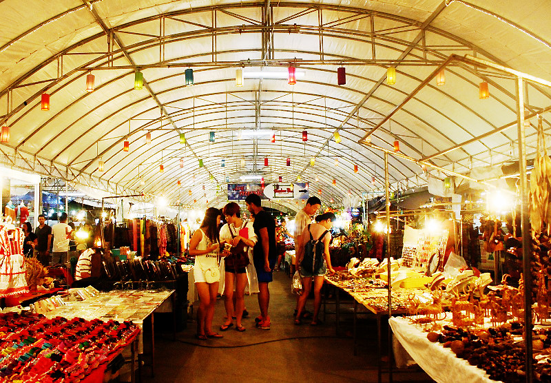 Night Bazaar in Chiang Mai, Thailand