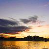 Sunset at the Coron Bay