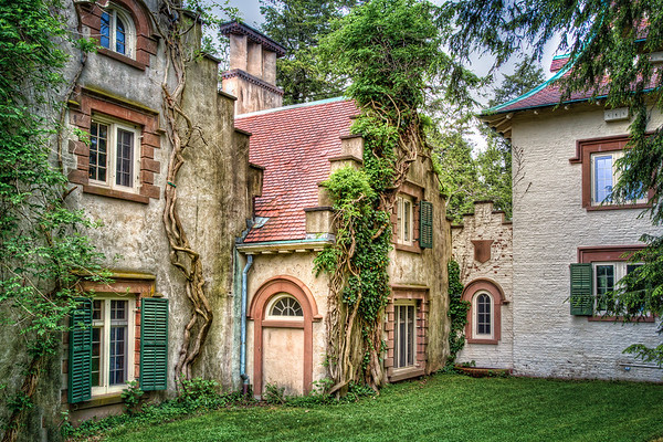 Sunnyside, home of writer Washington Irving, Tarrytown, NY.