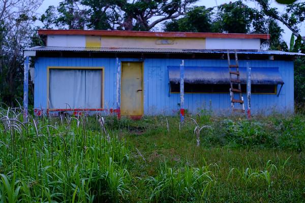 Vanuatu, Efate, Erakor, Blue House